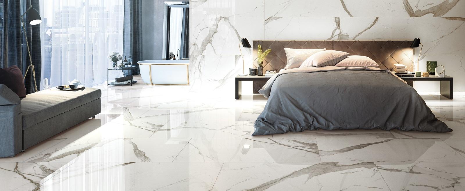 Carrelage Imitation Parquet 30X60 carrelage imitation marbre - prestigio